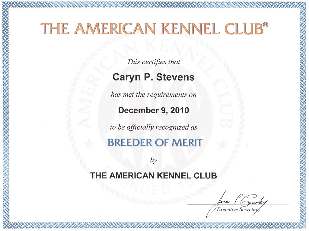 Breeder of Merrit